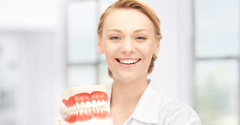 gums receding